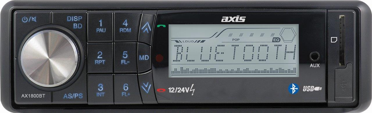 This is a photo of a AX1800BT radio