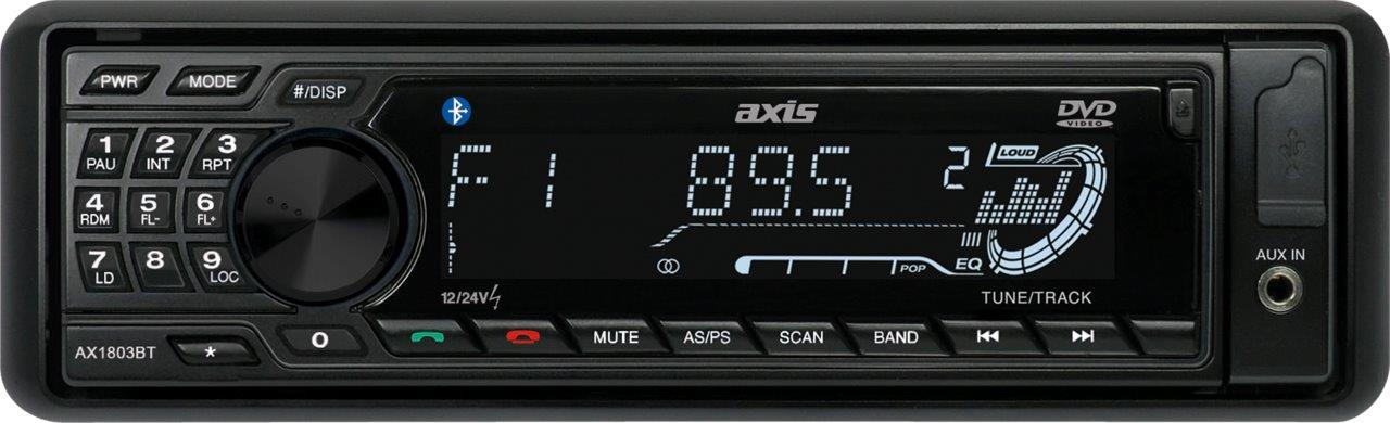 this is a photo of a AX1803BT radio